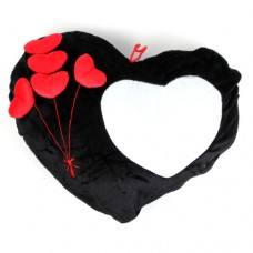 Black Heart Cushion