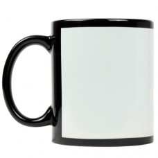 White Patch Mug