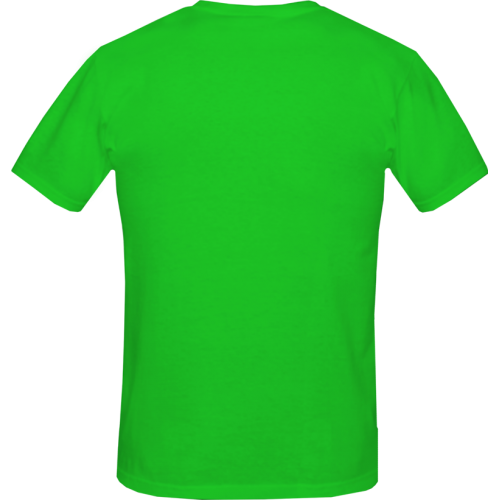 Gents t shirt green light for Shirt printing places near me